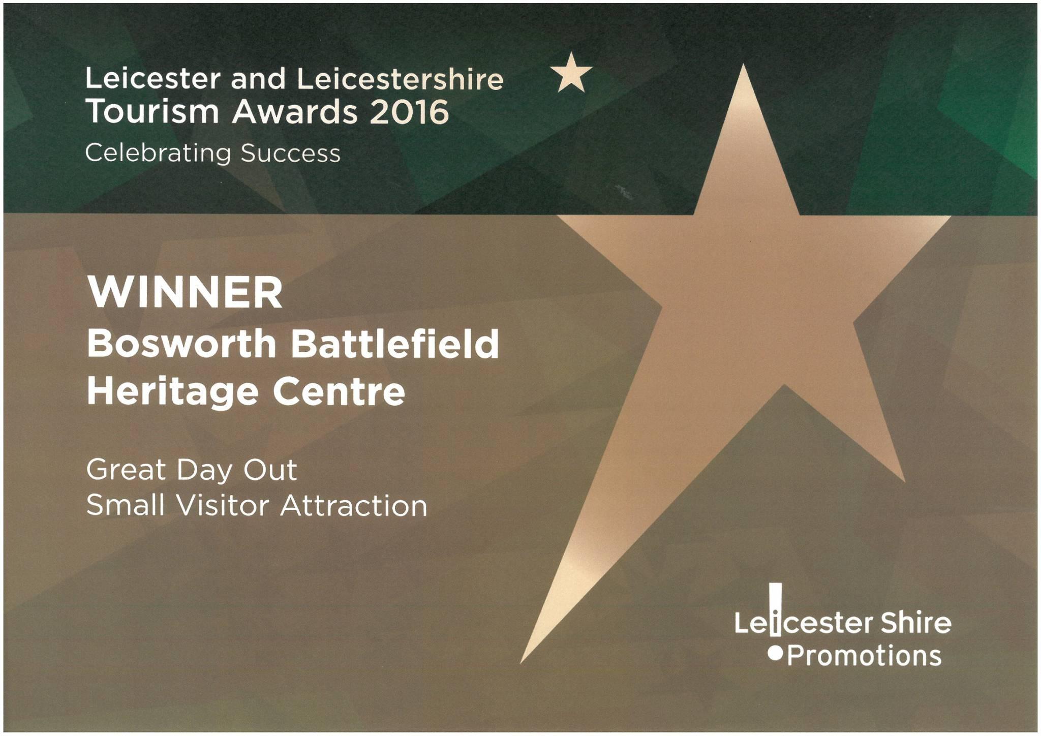 Bosworth Battlefield Exhibition Re-opens