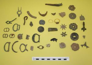 A selection of the Battlefield finds