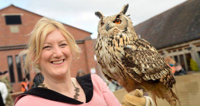 Hawkwise – Talks: Battlefield Birds & The Medieval falconer