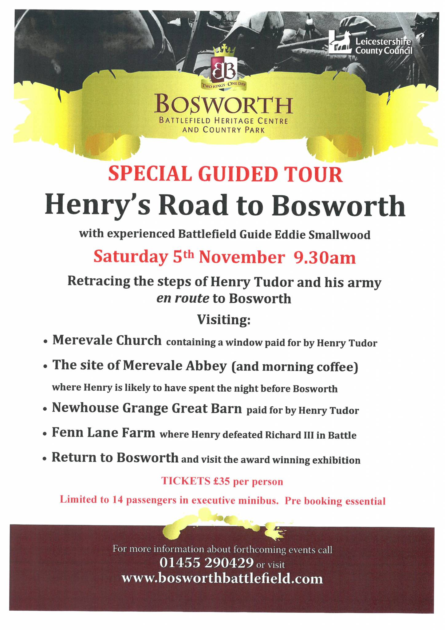 Henry's Road to Bosworth