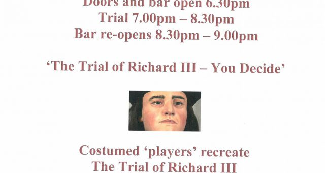 The Trial of Richard III – You Decide