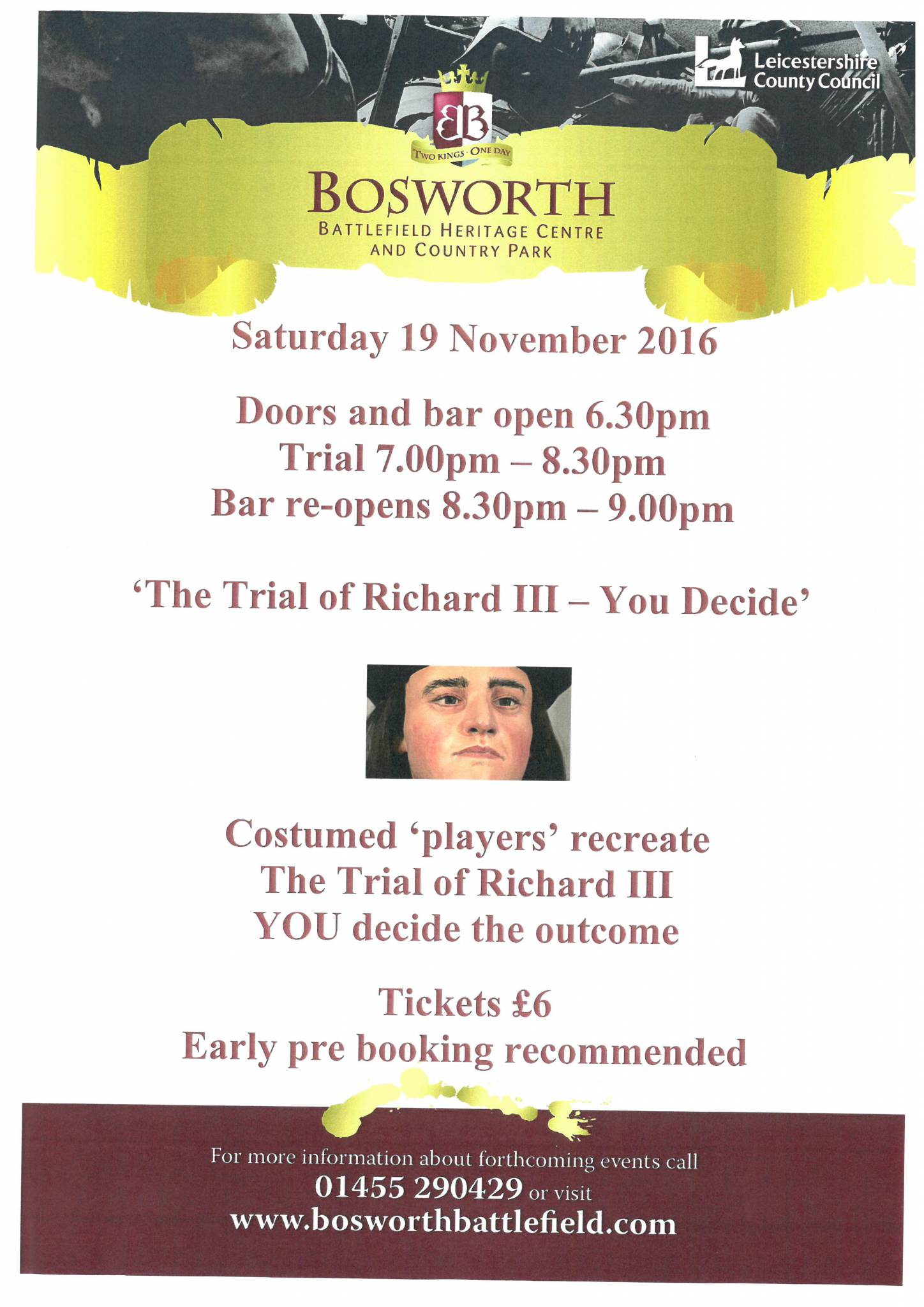 The Trial of Richard III - You Decide