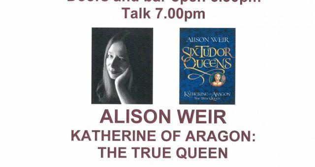 Alison Weir – Katherine of Aragon: The True Queen Talk