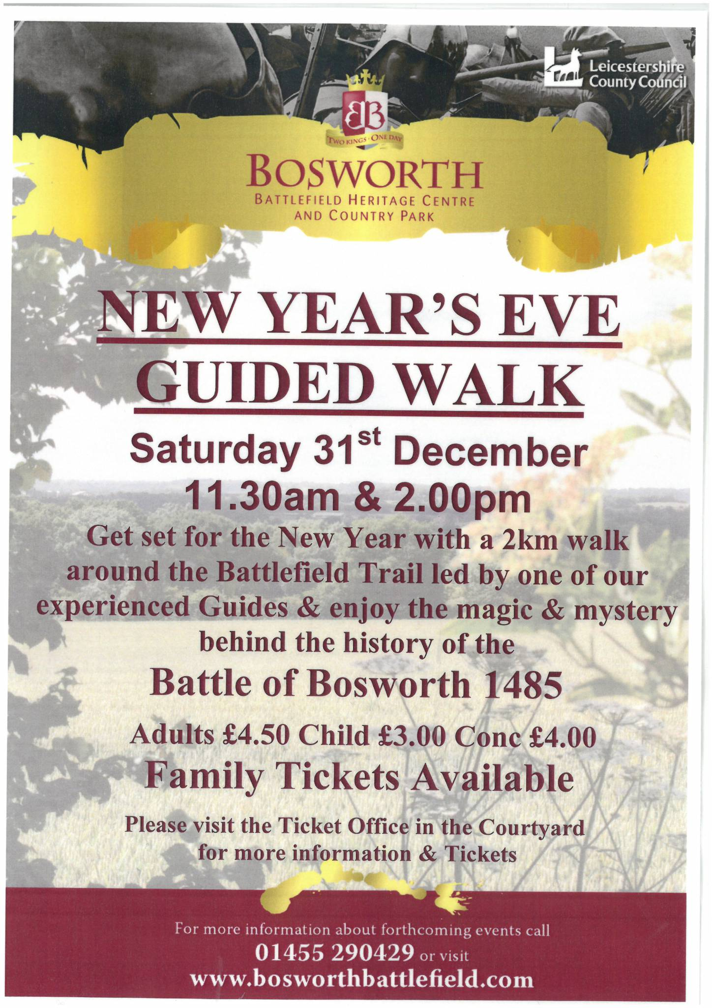 New Year's Eve Guided Walk