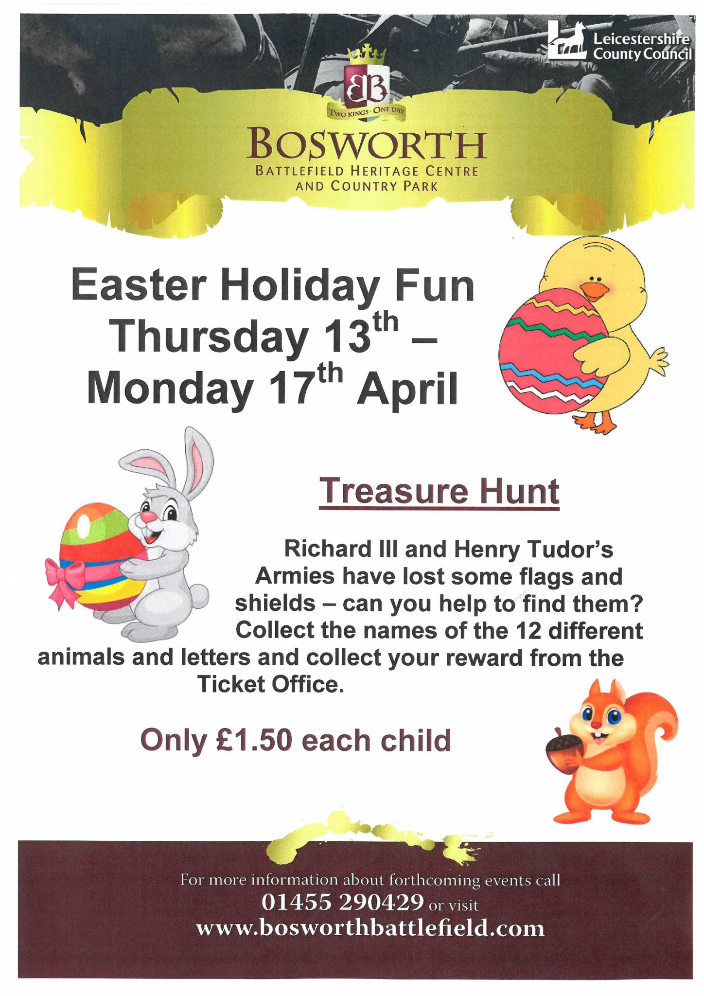 Easter Holiday Fun Treasure Hunt