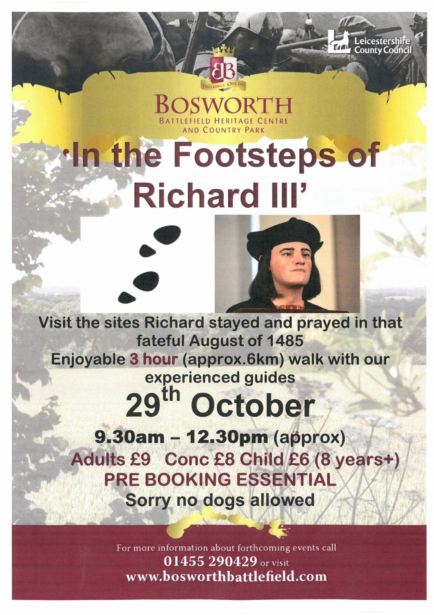 In the Footsteps of Richard III - SOLD OUT