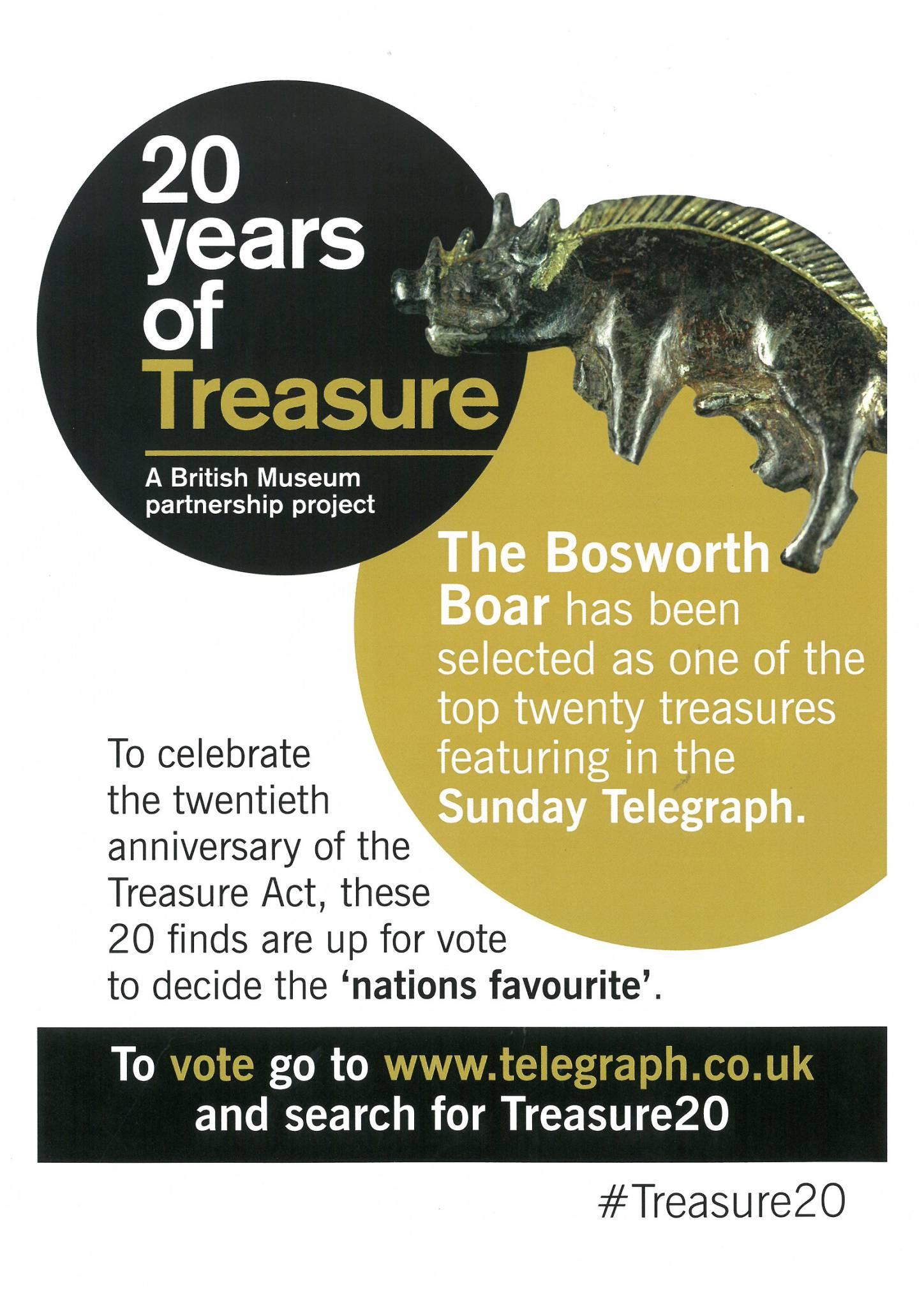 Treasure 20: The Bosworth Boar