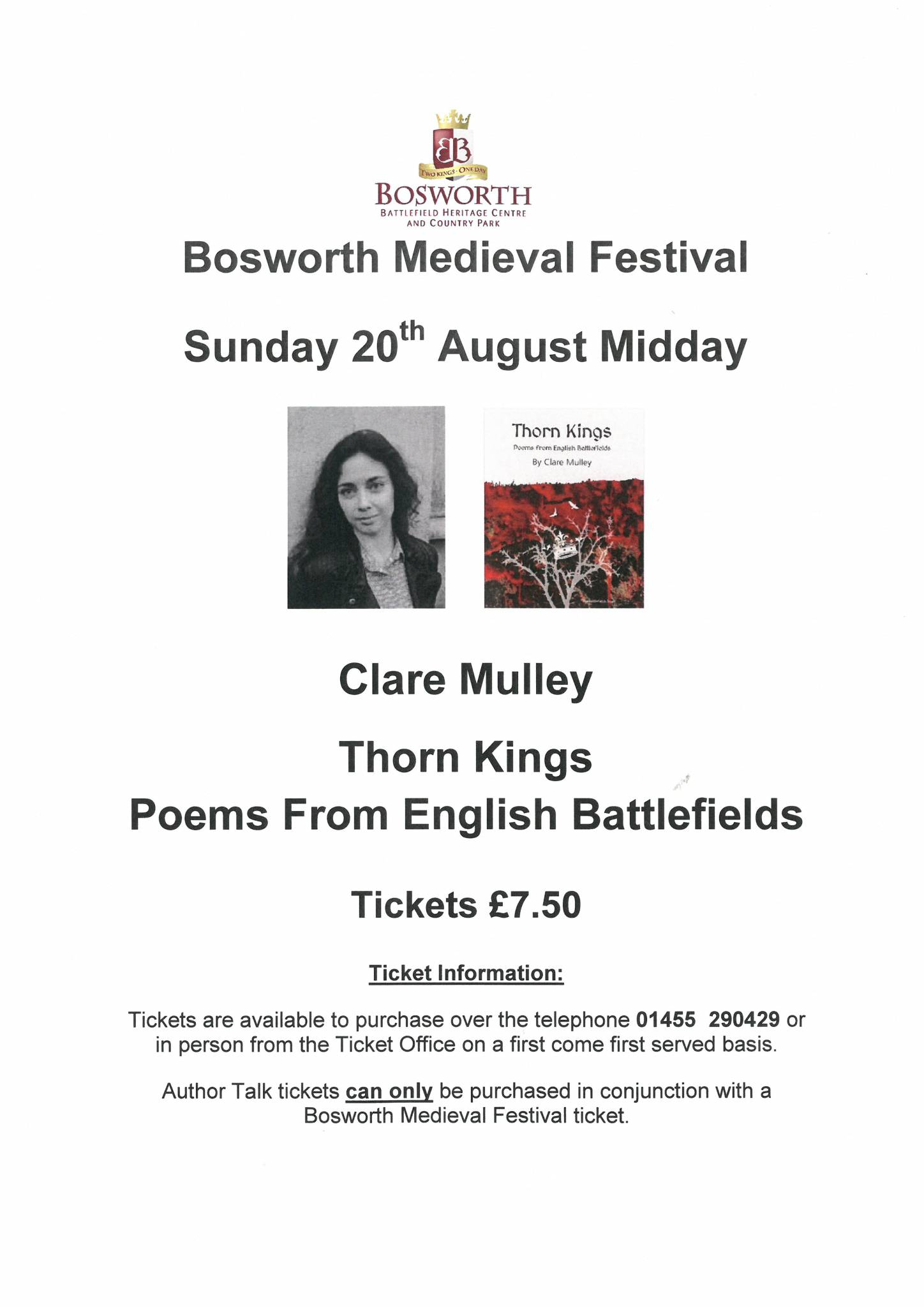 Clare Mulley - Thorn Kings: Poems from English Battlefields