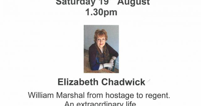 Elizabeth Chadwick Talk – William Marshall from Hostage to Regent: An Extraordinary Life