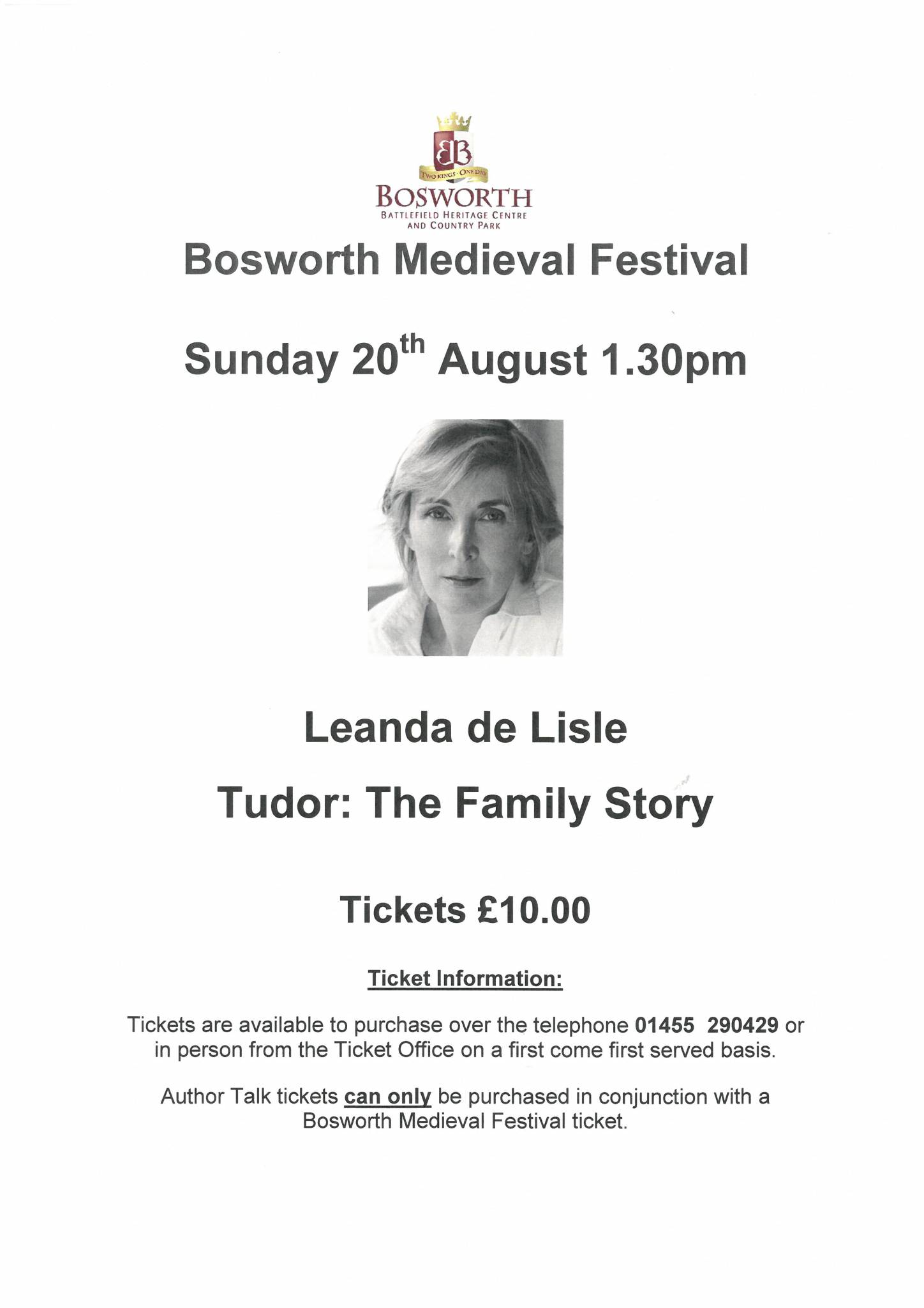 Leanda de Lisle Talk - Tudor: The Family Story