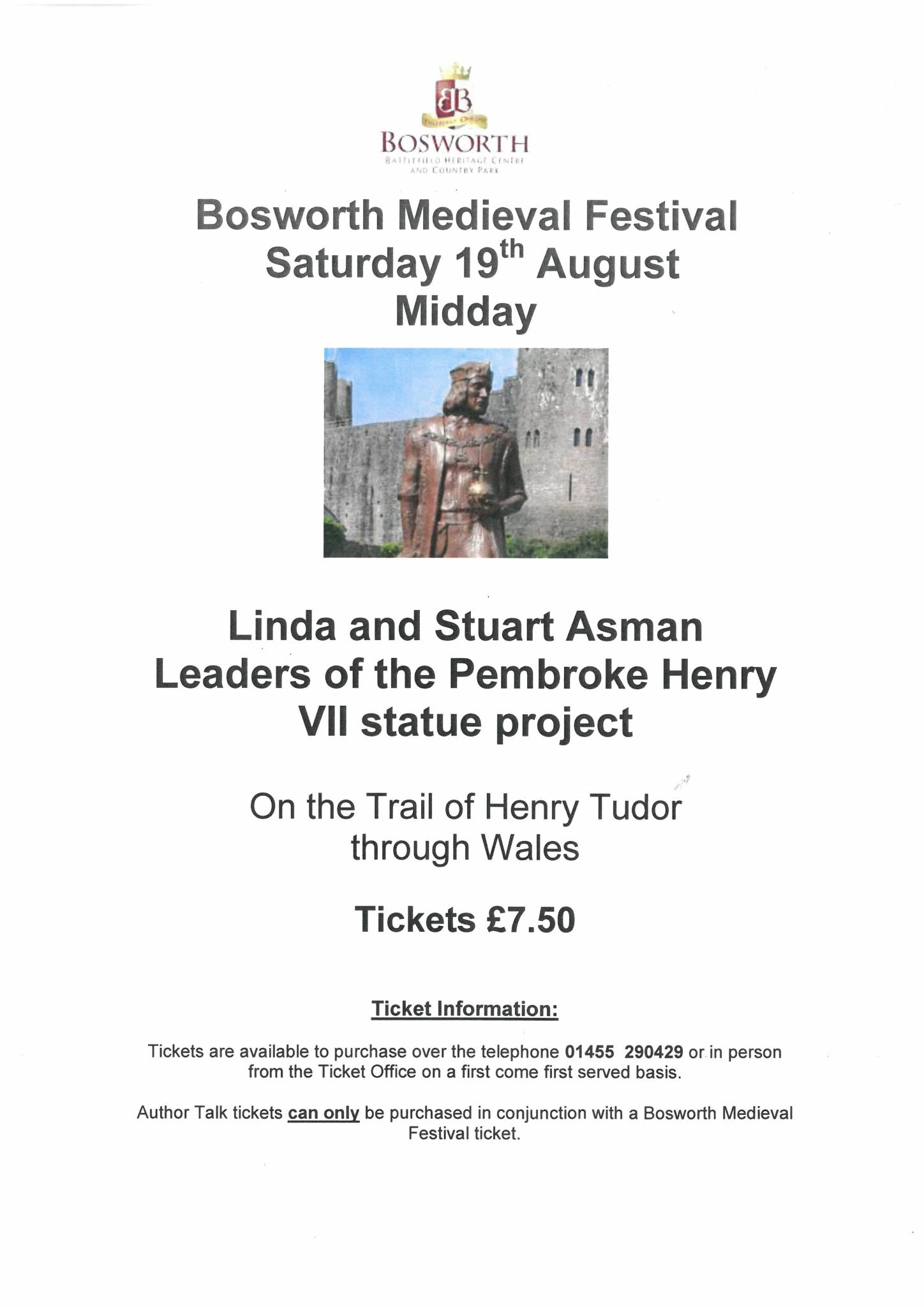 The Trail of Henry Tudor through Wales
