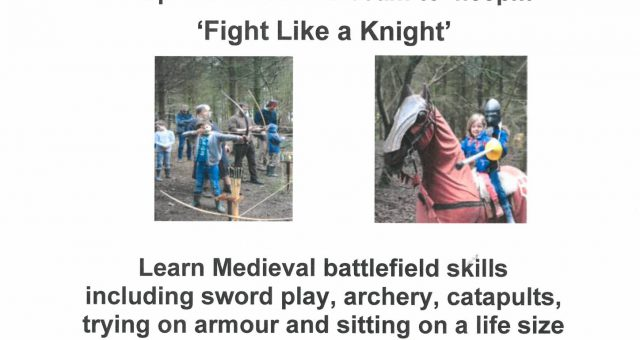 Fight  Like a Knight Weekend