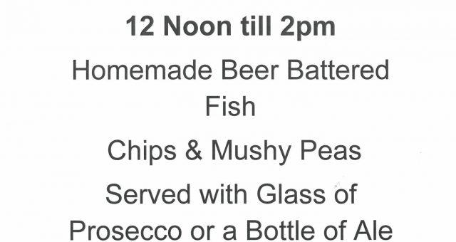 Fish 'N' Fizz Friday