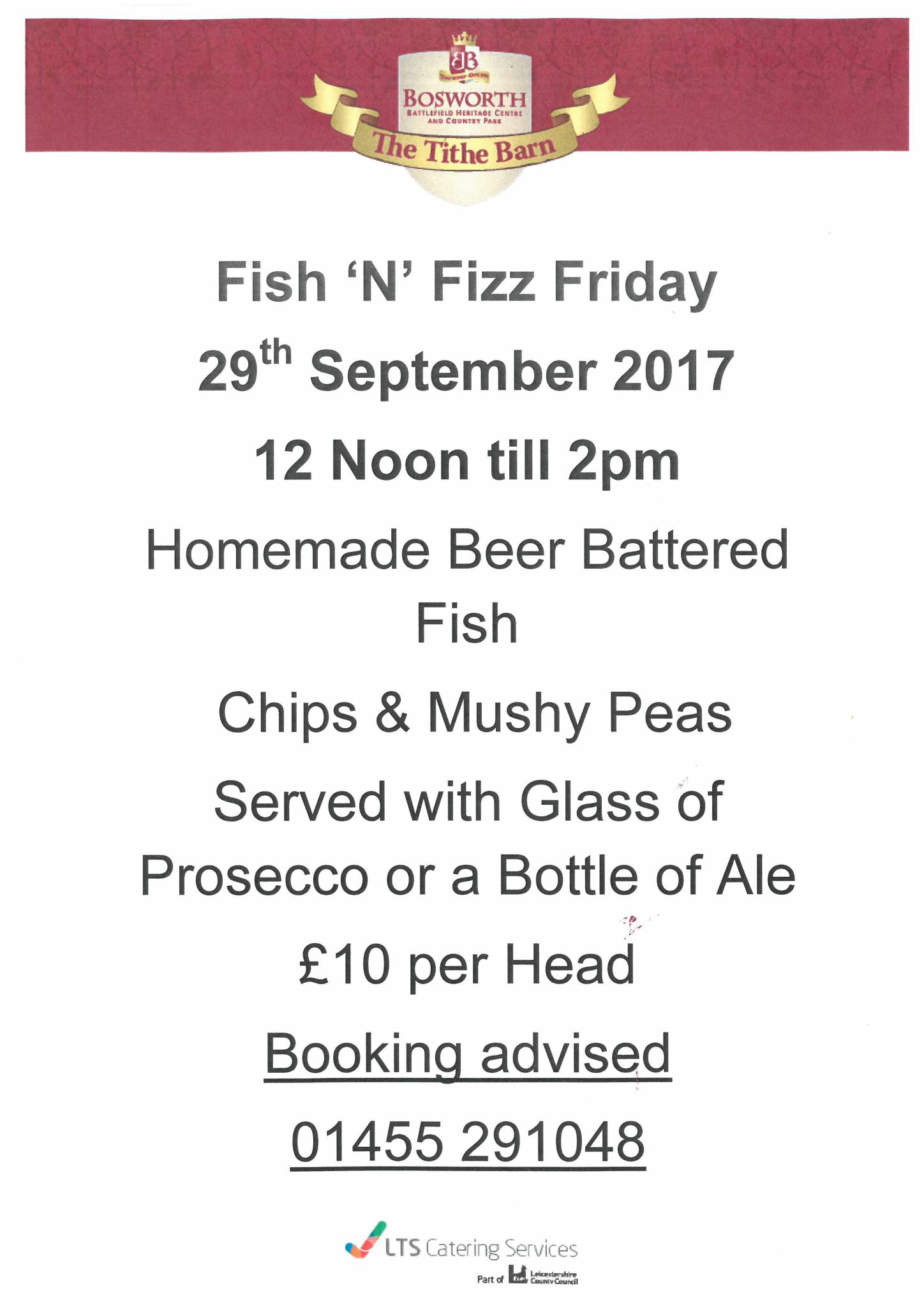 Fish 'N' Fizz Friday