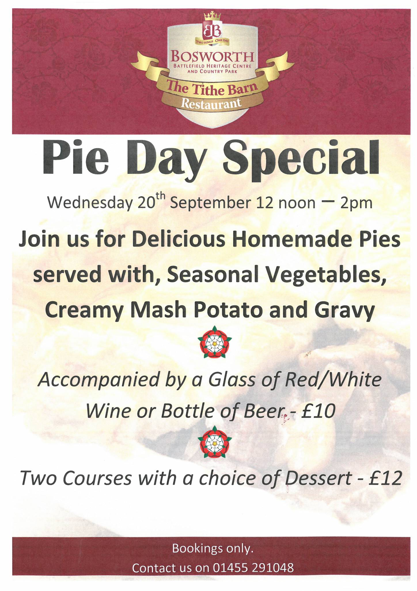 Pie Day Special
