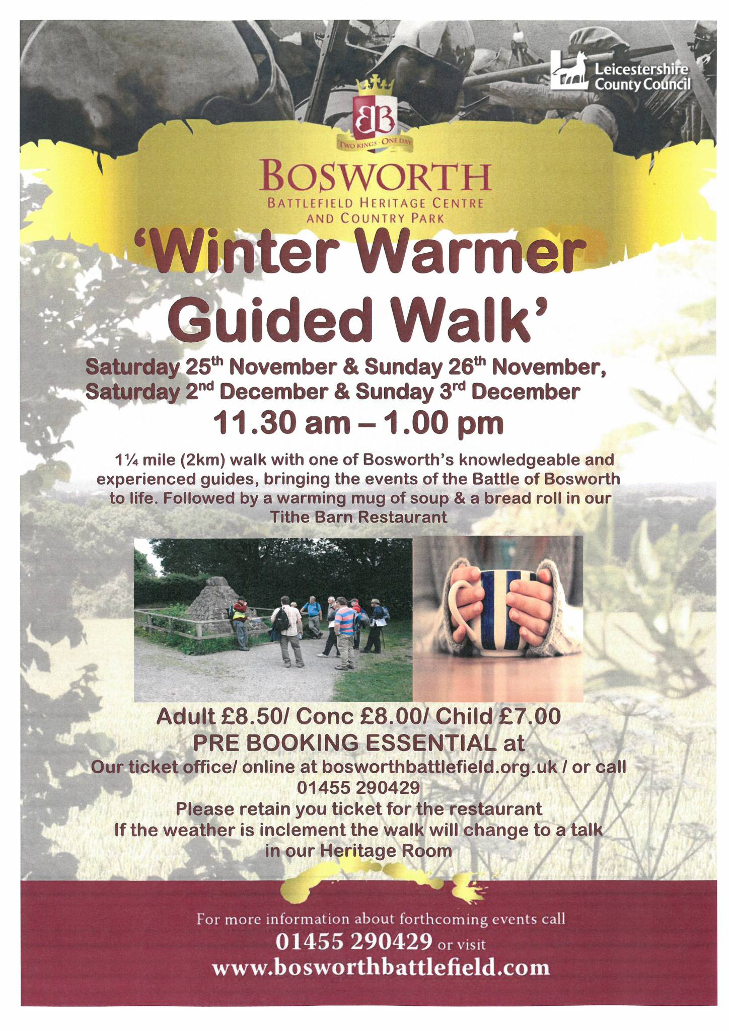 Weekend Winter Warmer Walk
