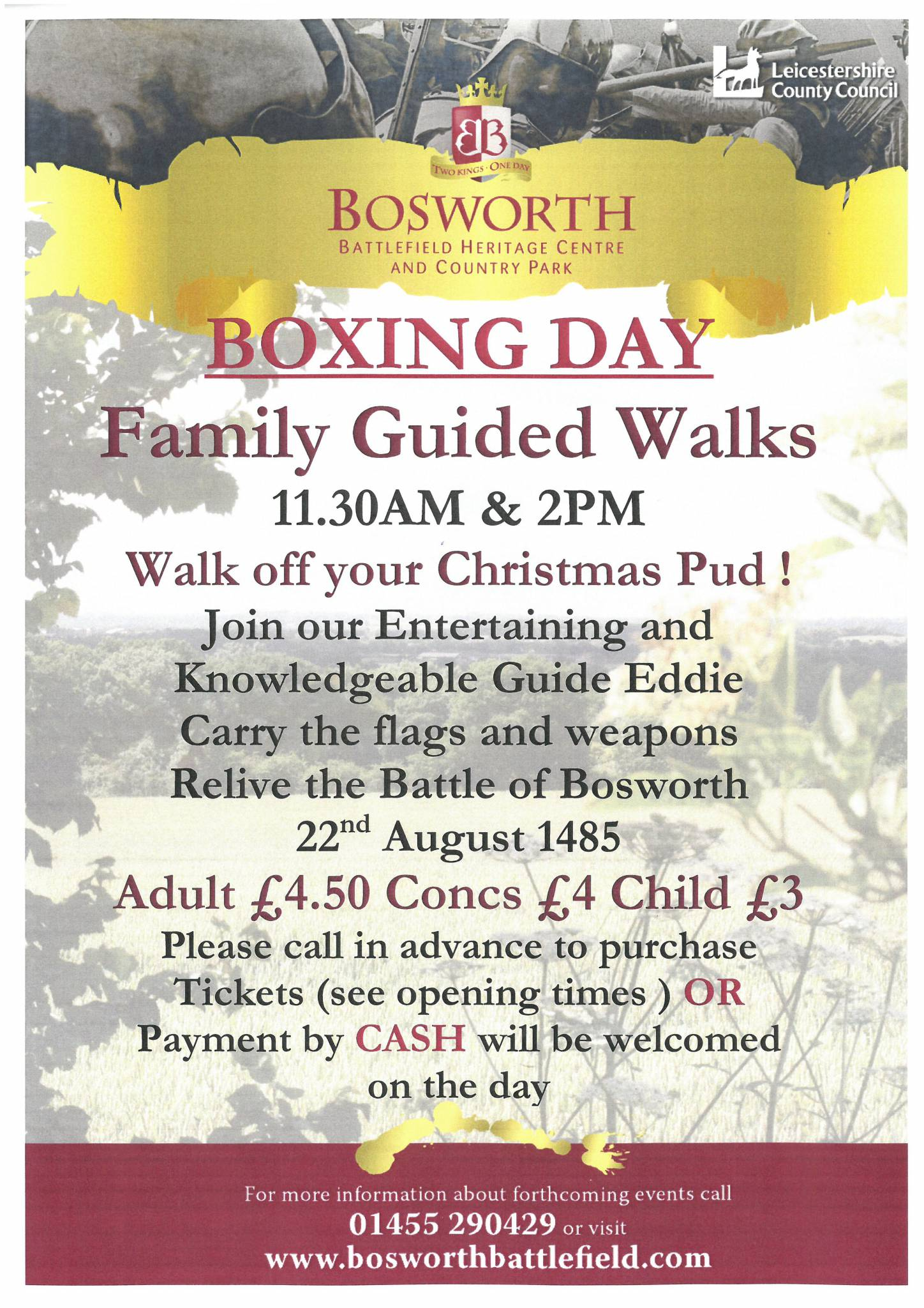 BOXING DAY: Family Guided Walk