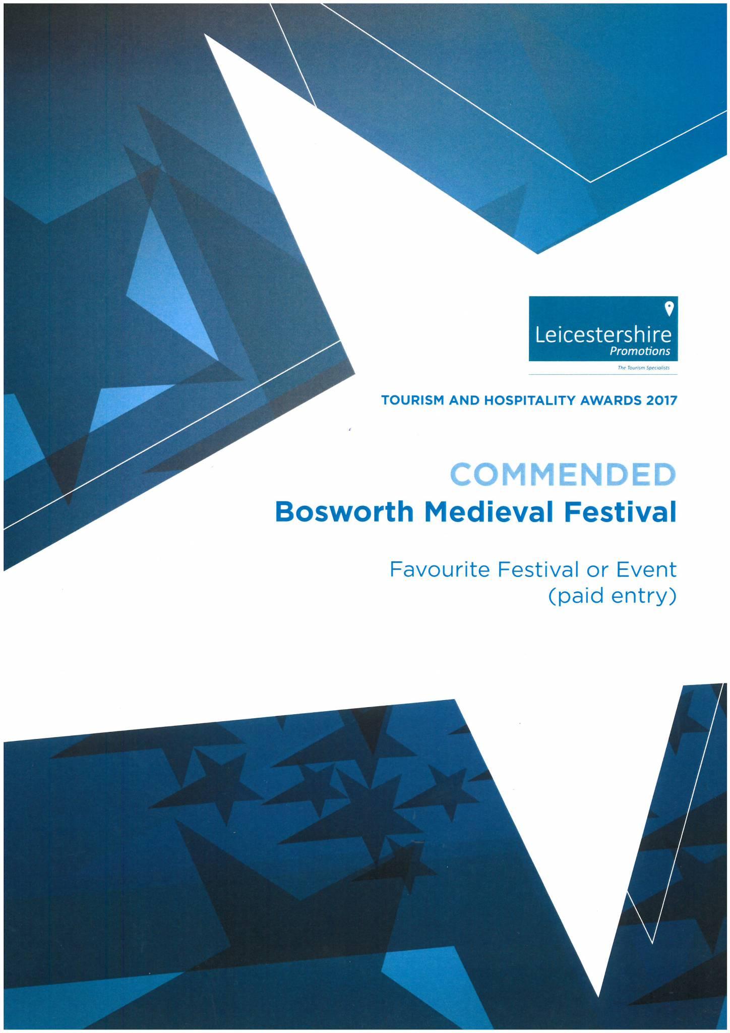 Bosworth Medieval Festival: 2019