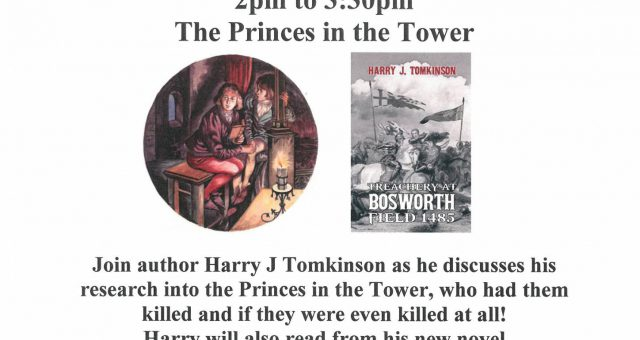 The Princes in the Tower Talk – SOLD OUT