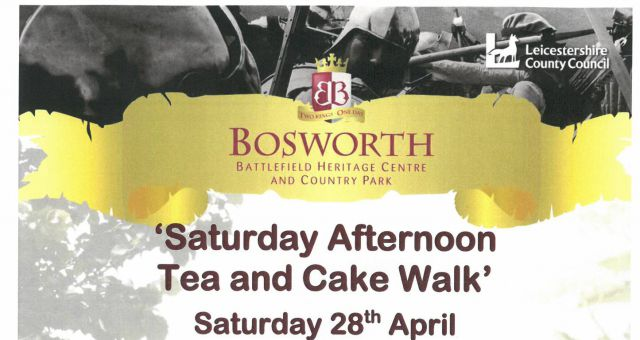 Saturday Afternoon Tea and Cake Walk