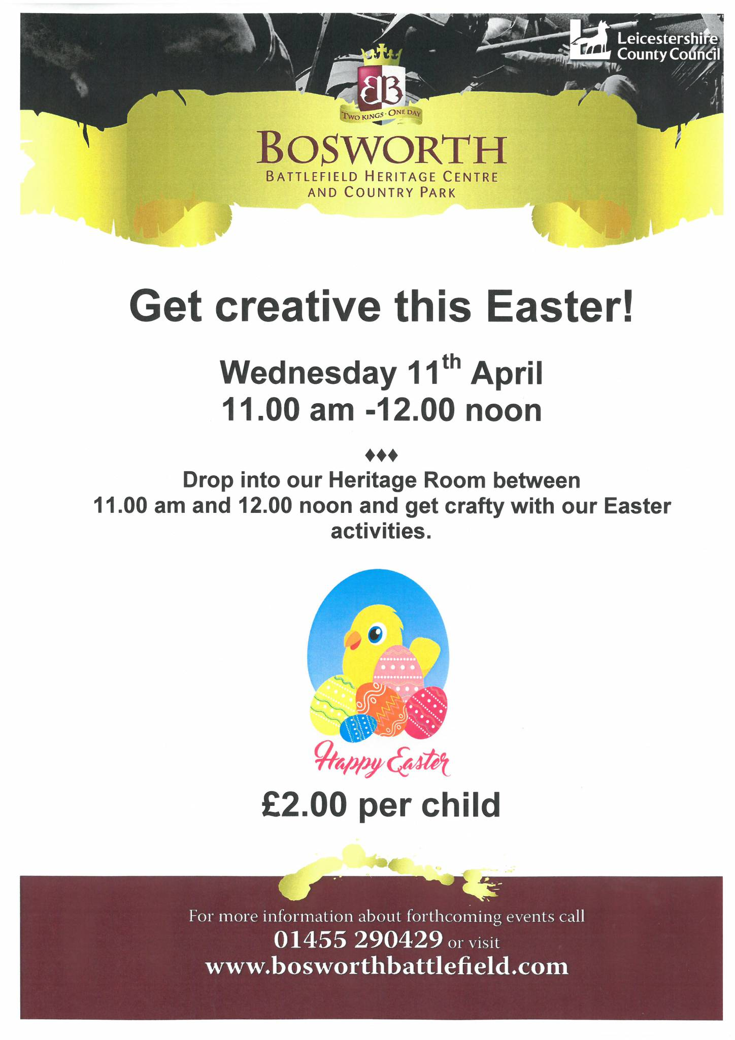 Get creative this Easter