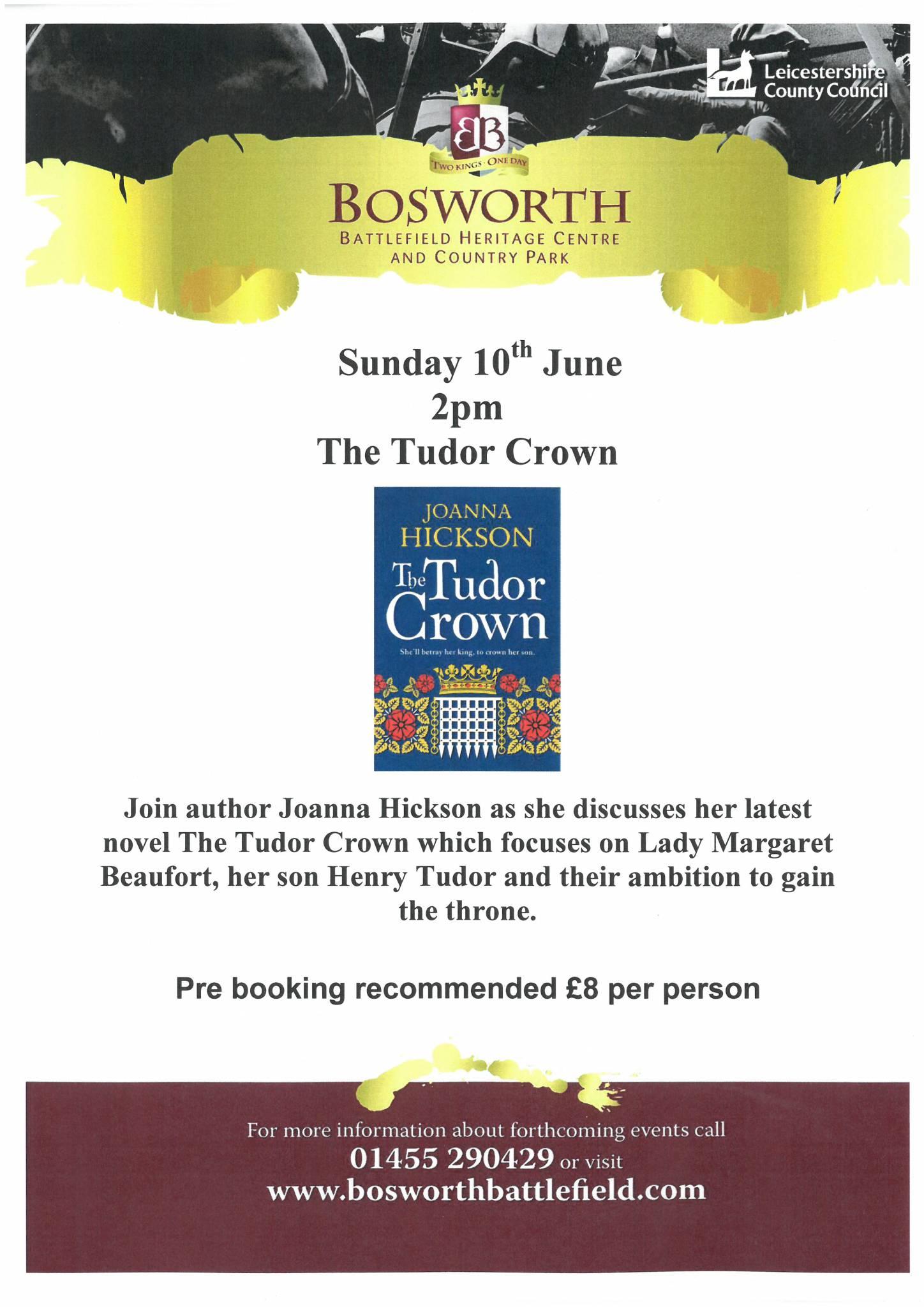 The Tudor Crown Talk: Joanna Hickson