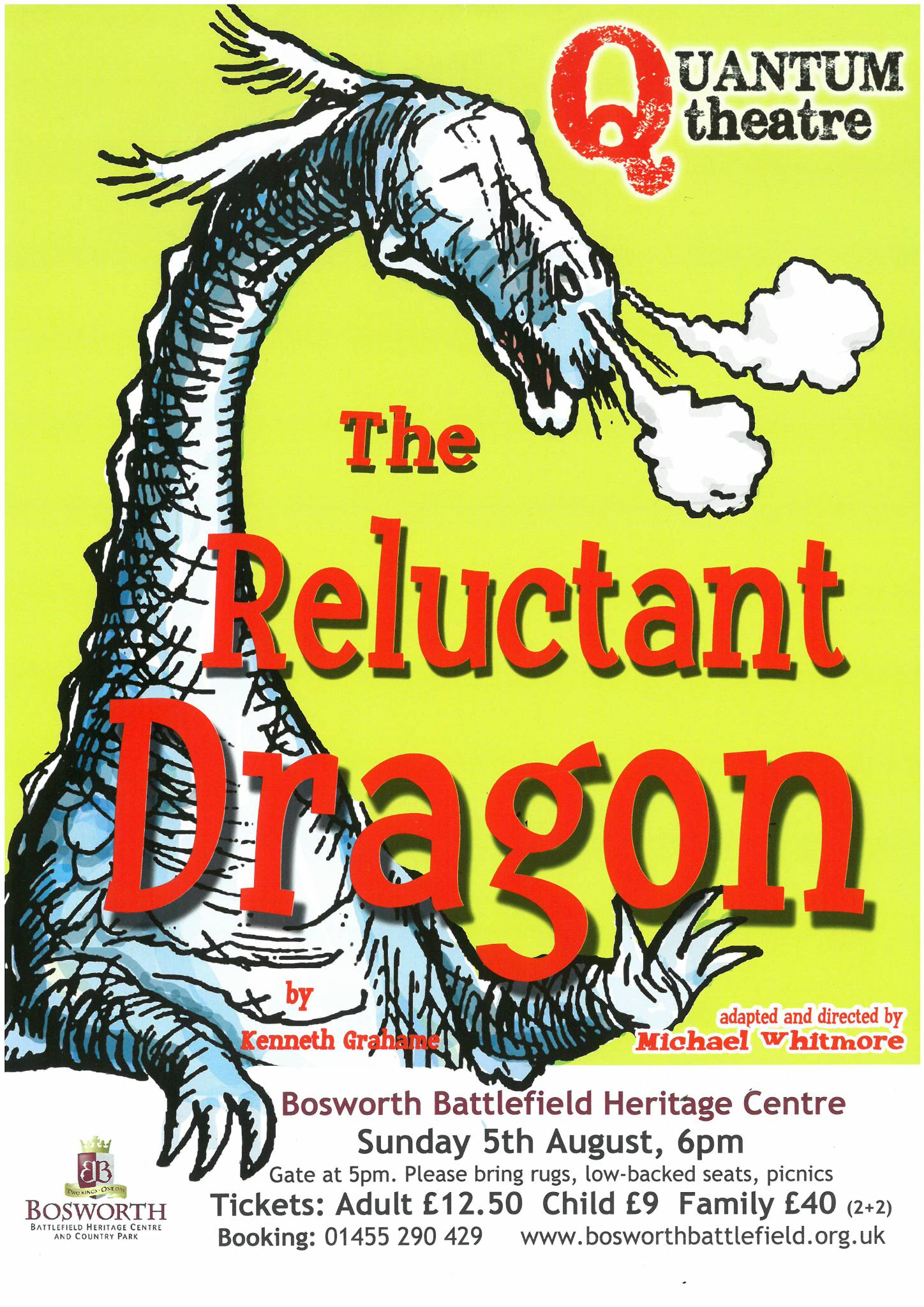 Outdoor Theatre: The Reluctant Dragon