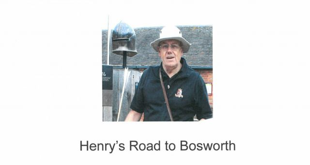 Eddie Smallwood: Henry's Road to Bosworth