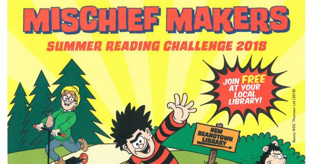 Summer Reading Challenge: Mischief Makers