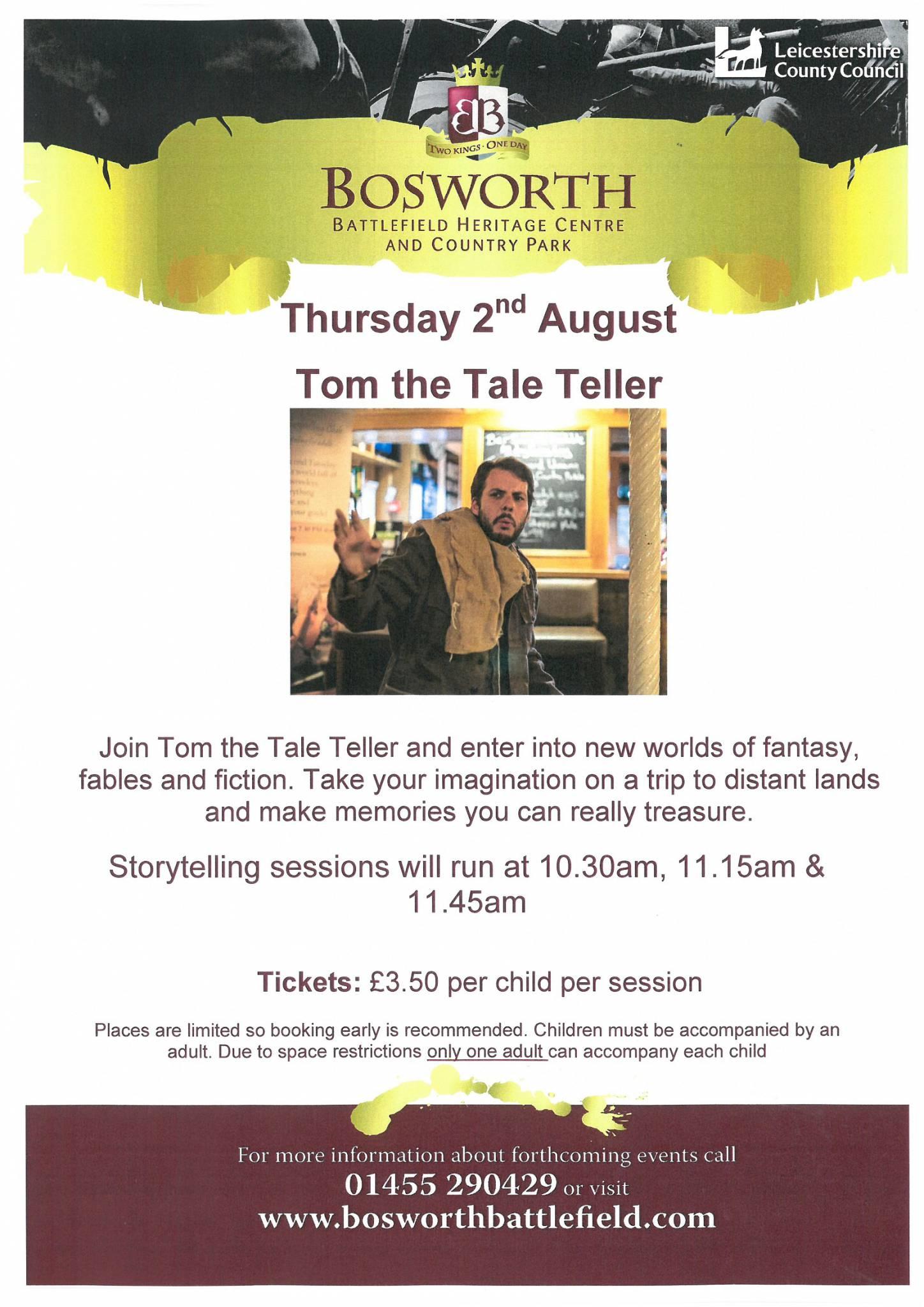 Tom the Tale Teller