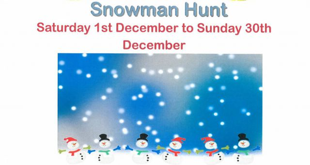 Snowman Treasure Hunt