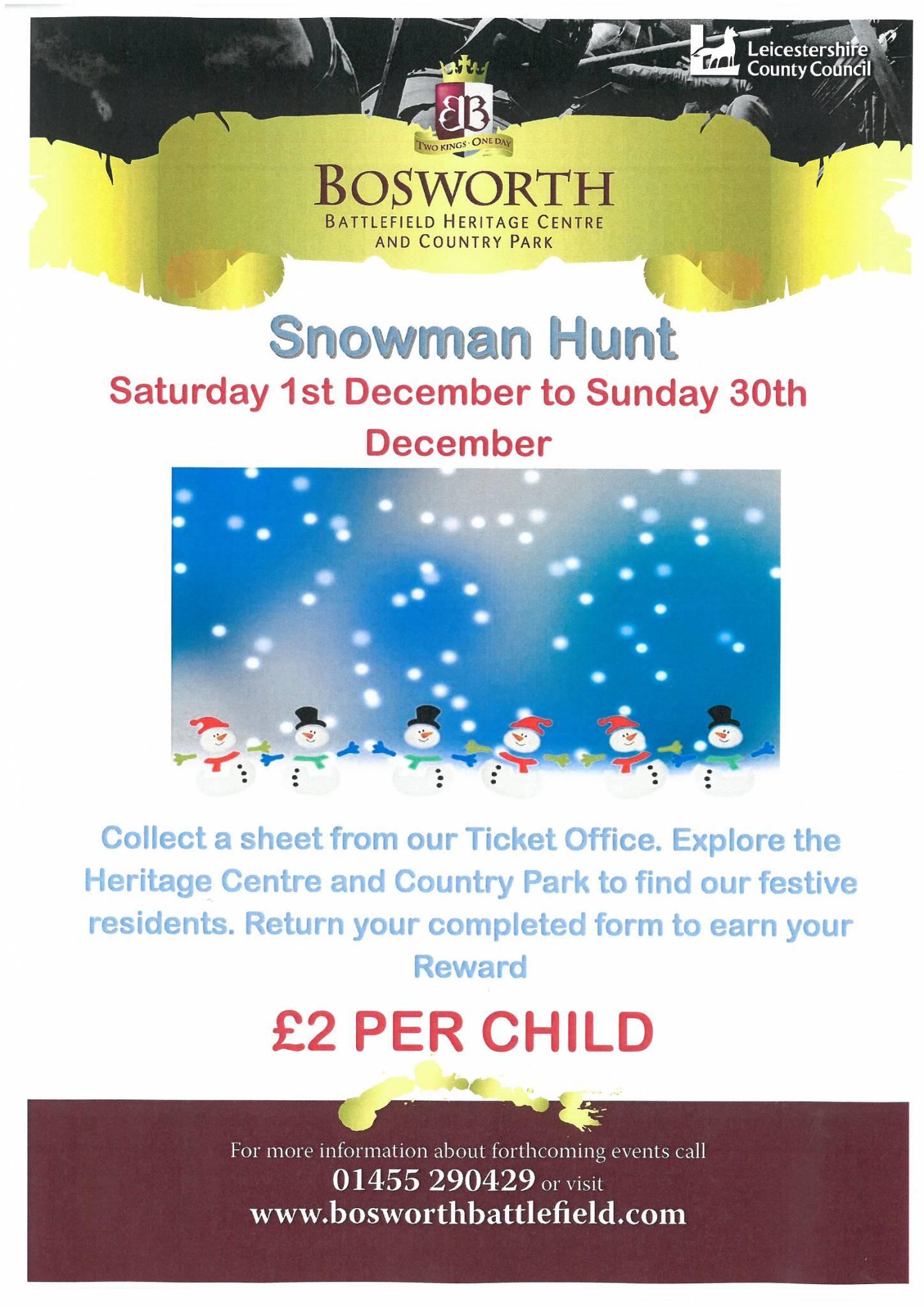 Snowman Treasure Hunt
