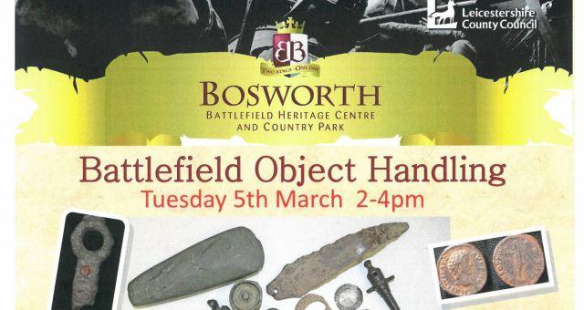 Battlefield Artefacts Handling Session