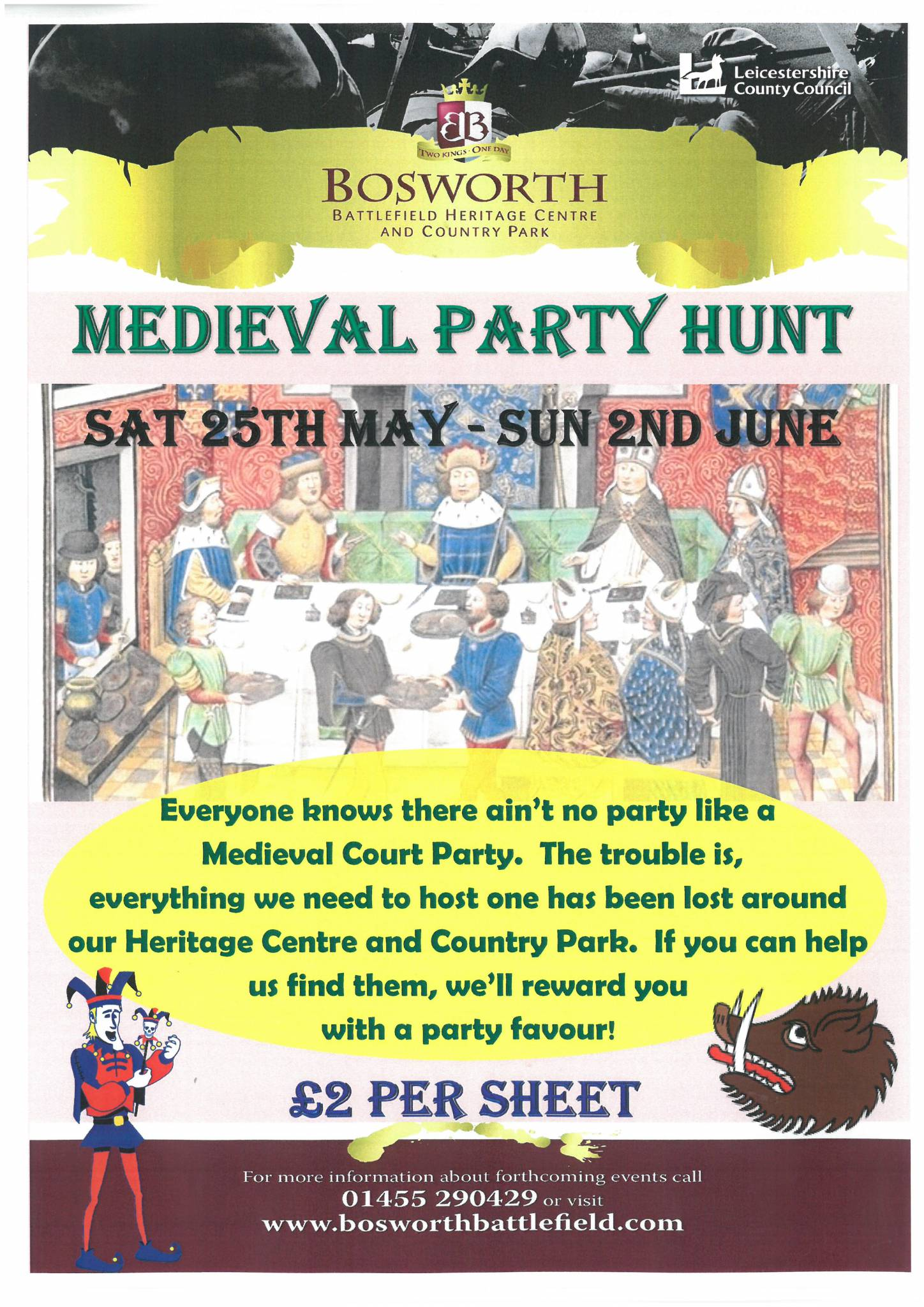 Medieval Party Hunt