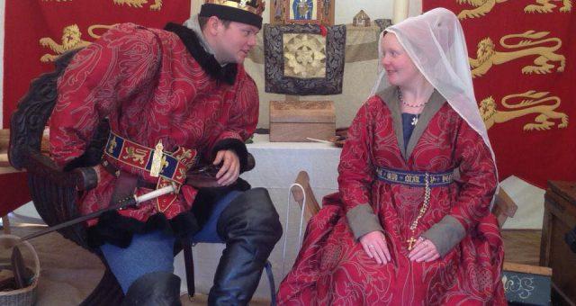 Explore The Royal Camp of Edward IV