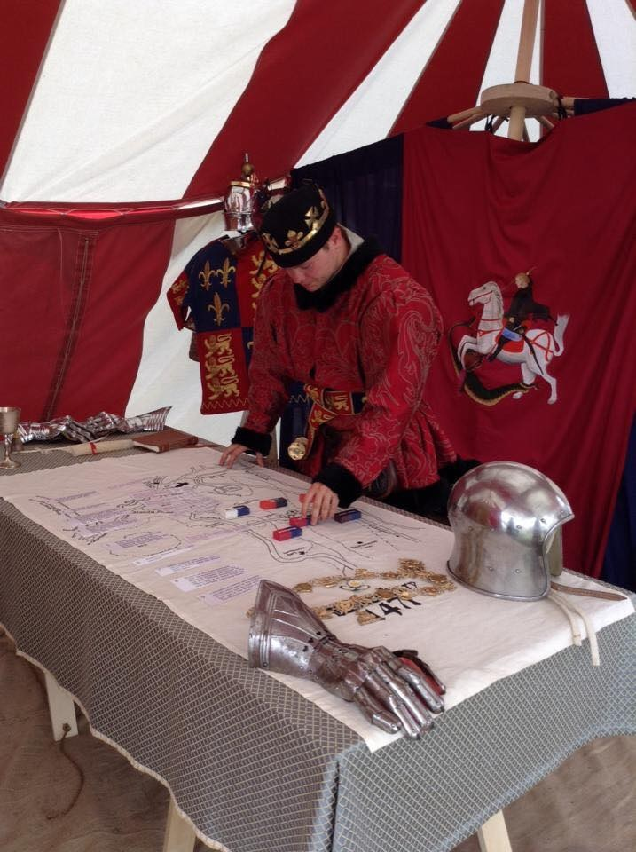 Explore The Royal Camp of Edward IV