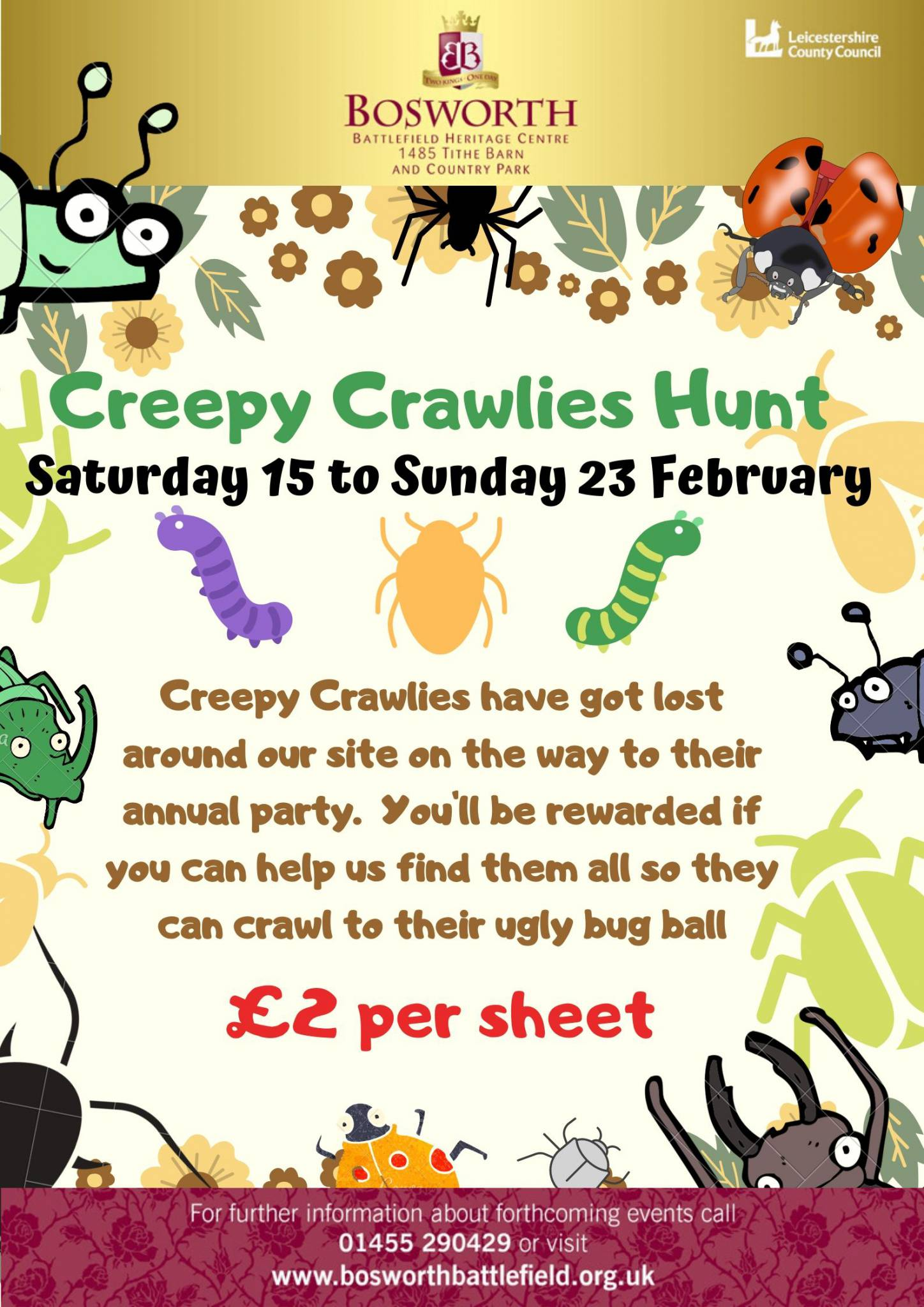 Creepy Crawlies Hunt