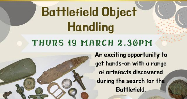 Battlefield Object Handling Session