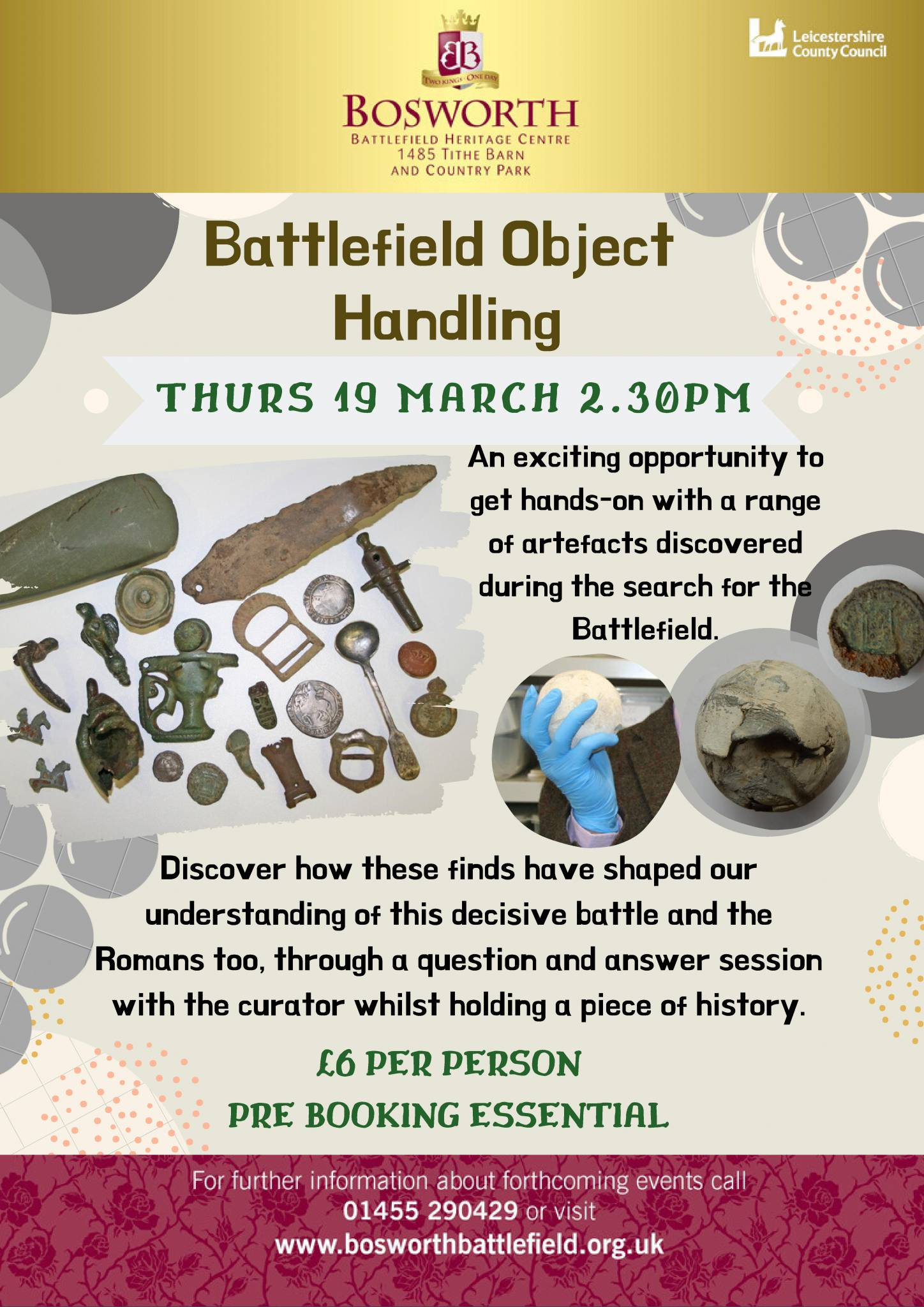 Battlefield Object Handling Session - POSTPONED