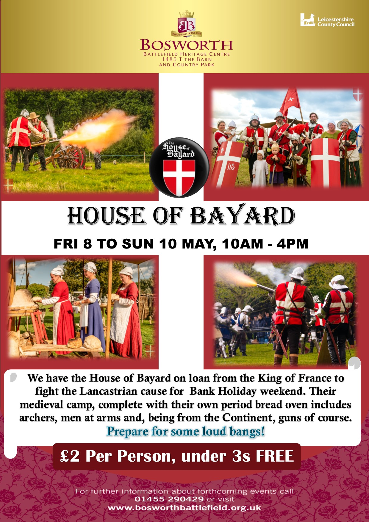 House of Bayard Living History Camp - POSTPONED
