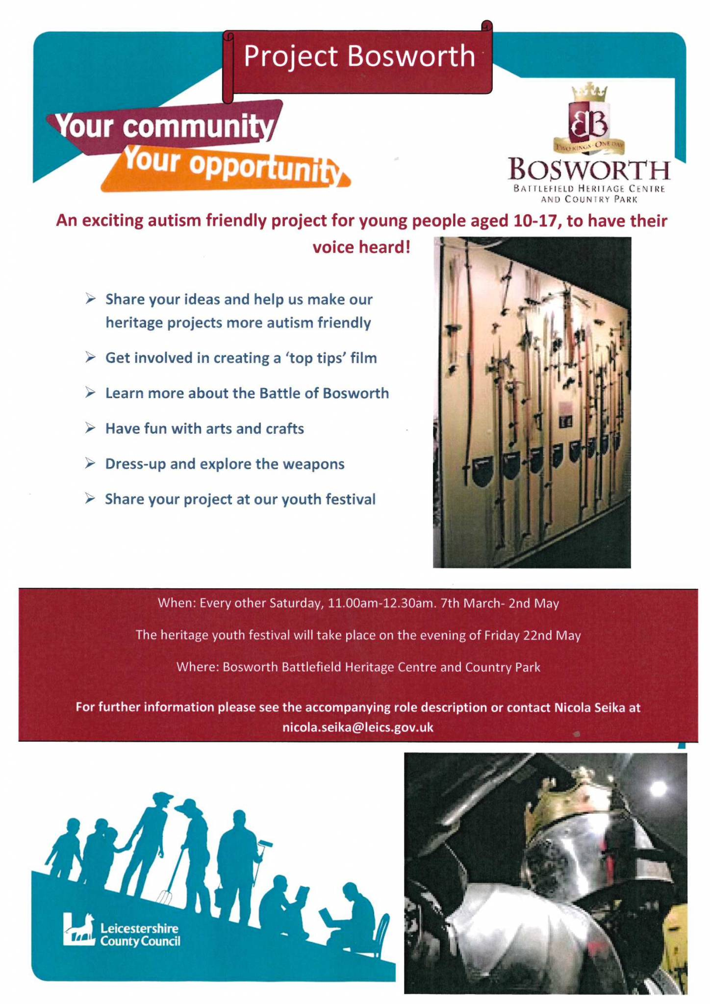 Project Bosworth - An Autism Friendly Project