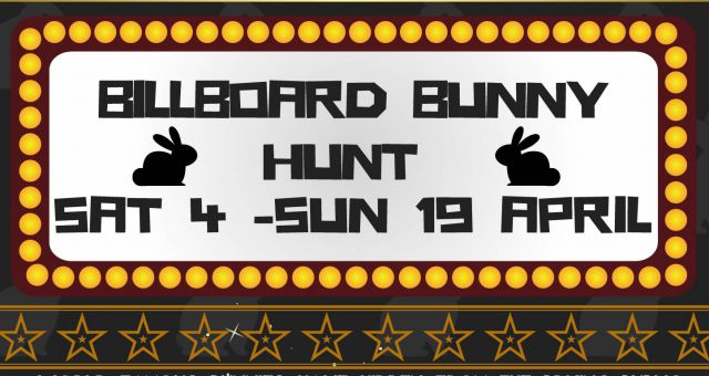 BillBoard Bunny Hunt – POSTPONED