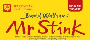 David Walliams Mr Stink promotional poster