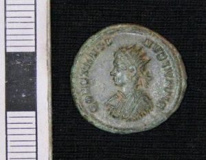 3rd century Roman coin found nearby
