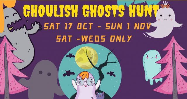 Ghoulish Ghosts Hunt
