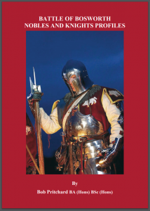 Medieval Nobles profile book by Bob Pritchard