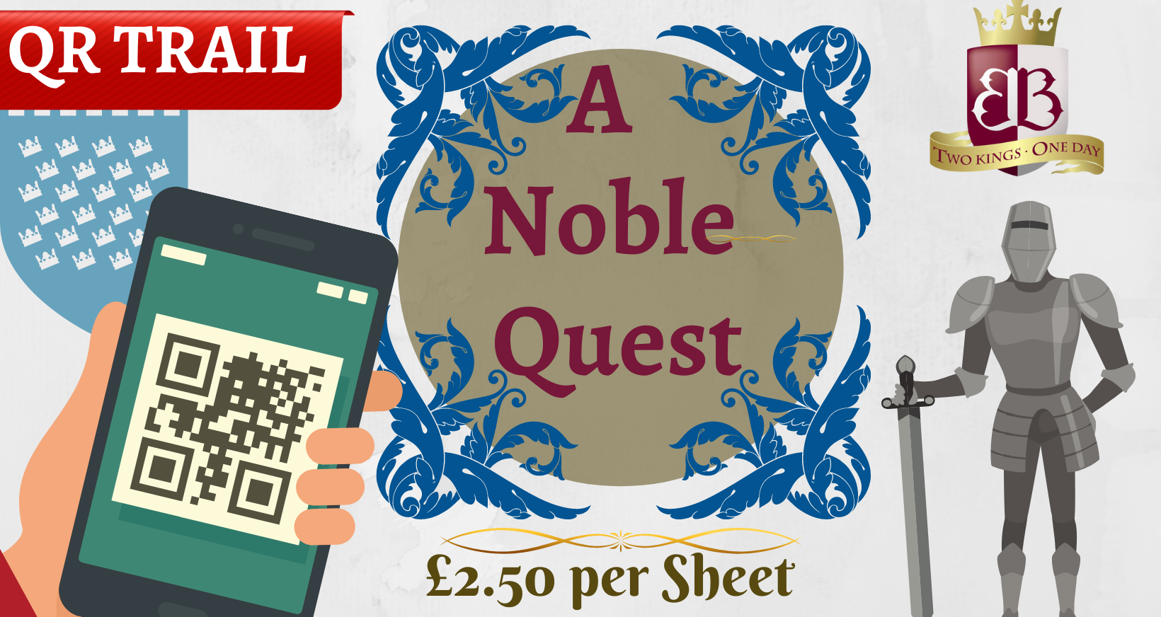A Noble Quest - QR Trail